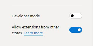 Chromium Edge Browser Extensions