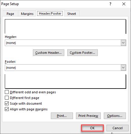 Select OK option