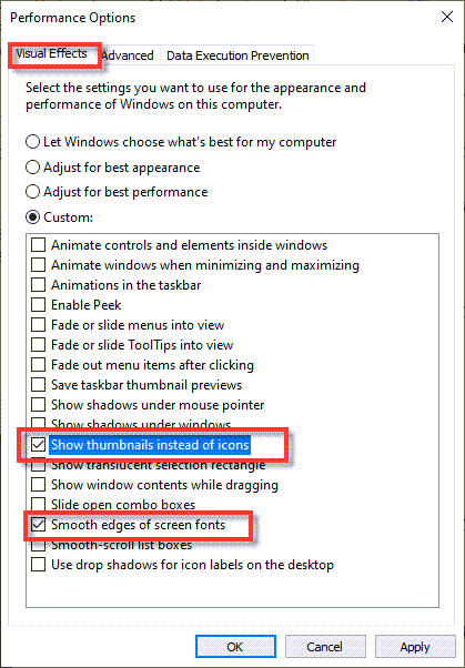 Select these two options to optimize your Windows 10 for Gaming performance.