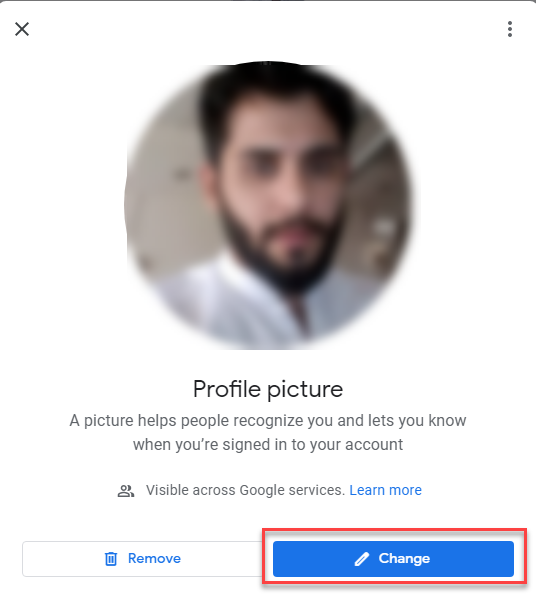 change your Google Profile Picture